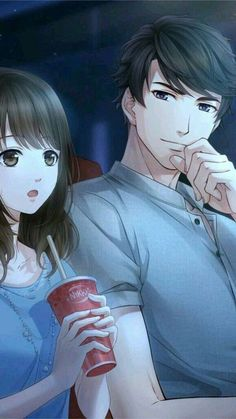 Wallpaper celular fofo feminino casal 39 ideas for 2019 Anime Love Story, Anime Love Couple, Cute Couple Art, Anime Cupples, Chica Anime Manga, Kawaii Anime, Anime Couples Drawings, Anime Couples Manga, Wallpaper Fofos