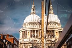 Saint Paul Cathedral by M Comanescu Photography on @creativemarket