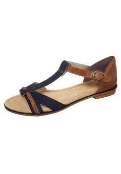 Sandaalit nilkkaremmillä - sininen
