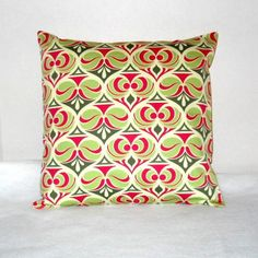 Throw Pillow Covers 16x16 sewn with Joel Dewberry\