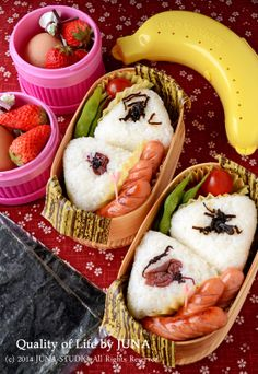 Rice Ball Bento おにぎり弁当