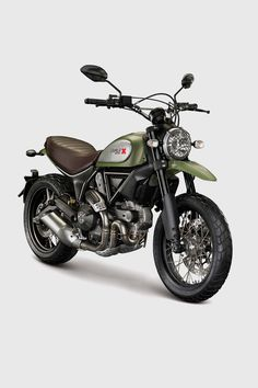 Ducati have presented the Scrambler, after months of teasing, the Italian brand have finally revealed the vintage inspired motorbike at the Intermot Show in Germany. The Ducati Scrambler is a contemporary interpretation of the iconic Ducati model fro Ducati Scrambler Urban Enduro, Ducati Motorcycles, Vintage Motorcycles, Harley Davidson Motorcycles, Custom Motorcycles, Custom Bikes, Classic Harley Davidson, Harley Davidson News, Bobber