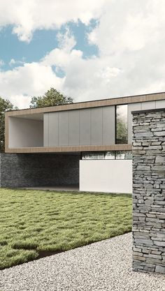 Hurst House by Strom Architects - Exteriors on Behance