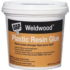 DAP Weldwood Plastic Resin Glue, Multicolor
