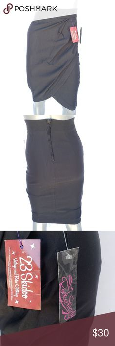 5fbc38c4e6 RockSteady Rebecca Black Skirt NEW WITH TAGS Size small Tags  Pinup,rockabilly, vintage,