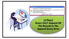 """This article covers complete detail about MS Access append query and it's associated """"can't append all the records in the append query"""" error. Text Types, Existing Customer, Working On It, Microsoft, Ms, Detail, Canning, Types Of Text, Home Canning"""