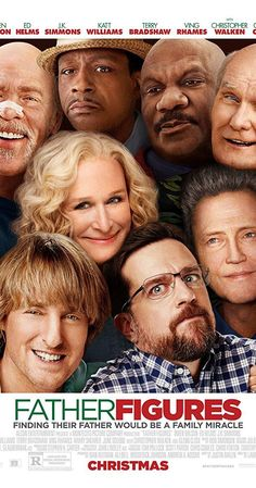 This poster for Father Figures (2017) has some of the worst photoshop Ive ever seen.