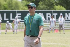 """""""When the Game Stands Tall"""" movie still, 2014. Jim Caviezel as Bob Ladouceur. PLOT: The football coach of De La Salle High School Spartans leads the team to a 151-game winning streak that shattered all records for any American sport. Jim Caviezel, Seahawks Fans, Seattle Seahawks, Football Movies, American Sports, 12th Man, Stand Tall, Feature Film, Favorite Tv Shows"""