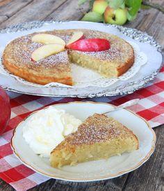 Söta bakverk tårta frukt: Äppelkladdkaka