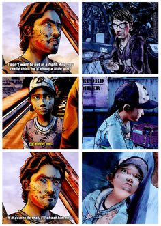 Where are you Luke? :( it hurts to know that he wasn't there for Clem when this happened