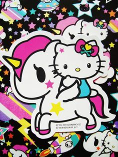 Hello Kitty & Unicorno
