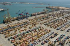 This Is The Port of Valencia, This Is The Fifth Largest Container Port In Europe