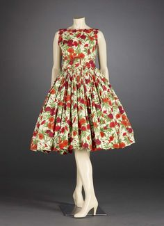 Day Dress  c. 1957  Norman  Norell  American