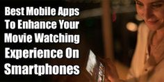 Best Mobile Apps To Enhance Your Movie Watching Experience On Smartphones:  Do You Want To Make Your Smartphone As Your Own Theater Then Here We Have Some Top Best Mobile Android And iOS Apps To Enhance Your Movie Watching Experience On Smartphones.  Article: www.exeideas.com/2014/04/best-mobile-apps-for-movie-player.html Tags: #Android #iOS #SmartPhone #Apps #MobileApps #MediaPlayers #MobilePlayers #MoviesOnMobile