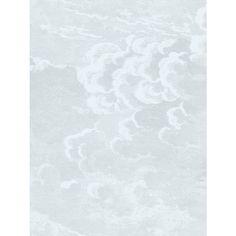 Buy Cole & Son Nuvolette Paste the Wall Wallpaper Set, Pale Blue, 97/2006 Online at johnlewis.com