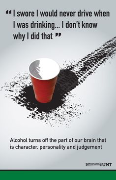 What alcohol can do