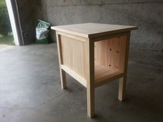 Tidy Up End Table   Do It Yourself Home Projects from Ana White