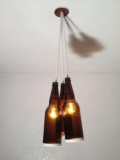 upcycled bespoke ceiling light