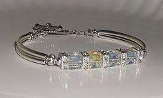 """Beautiful Swarovski """"wedding bracelet"""""""