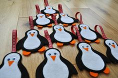 penguin christmas crafts