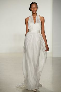 Aisle Style: The Must-See Wedding Dresses at Bridal Fashion Week Fall 2014: Anne Barge Bridal Fall 2014 : Christos Bridal Fall 2014