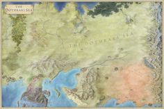 The Dothraki Sea – from the city of Volantis to the ruins on which Vaes Dothrak is built.