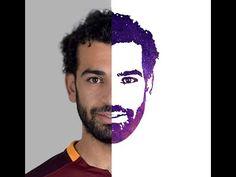 ازي تعمل لوجو ل محمد صلاح - How to design a logo for Mohamed Salah