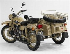 Ural Gear-up Sidecar Motorcycle. -found one similar on Crag's List for $13,000