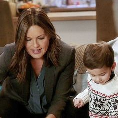 Benson and baby