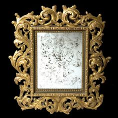 1000 images about miroirs atelier garnier on pinterest carved wood atelie - Miroir baroque rectangulaire ...