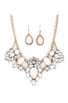 Anne Marie Necklace Set in Aspen on Emma Stine Limited