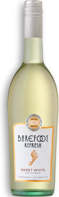 Sweet White TASTES & DELIGHTS It seems Pinot Grigio and Moscato get along swimmingly. This blend is fruity, lively and light-bodied, starting with notes of peach and tangerine and finishing on a sweet note—just like every day should. Enjoy over ice.