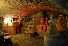 Laboratorio de Alquimia descubierto en Praga.