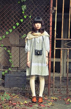 (mori kei, kawaii, cute, girly, indie, sweet, pure, lively, Fashion)