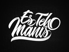 Es Teh Manis designed by Arif Dwi. the global community for designers and creative professionals. Lettering Art, Typography Design, Artist Quotes, Calendar Printable, Creative Tattoos, Modern Calligraphy, Milkshake, Inktober, Handwriting