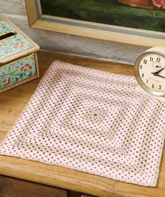 Sophisticated Square Doily Free Crochet Pattern from Aunt Lydia's Crochet Thread
