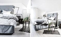 Inleder veckan med det här tjusiga hemmet i Hellerup i Danmark – vitt, vinterkrispigt och dränkt i ljus. Precis den