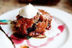 cherry cake pudding