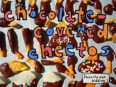 Chocolate covered Cheetos #FritoLayFans #FritoLayNoms
