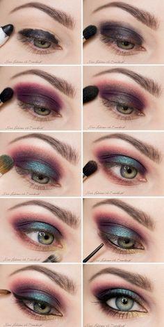 Make up maravilhosa, passo a passo