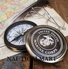 Maritime Compasses Sensible Calender Compass 18th Century Royal Flat Directional Compass Decor Gift