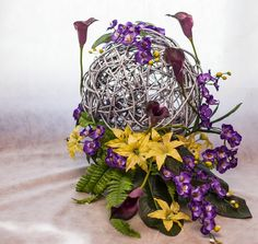... Easter Eggs, Crochet Christmas Decorations and Wildflower Centerpieces