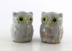 Cute Owl Salt and Pepper Shakers