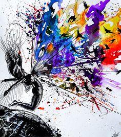 Wings of freedom by Vivien Szaniszlo