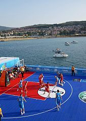 EuroBasket 2013 starts in the sea off Koper