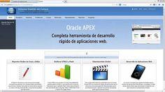 """Curso Introducción """"Aprende a Crear una Aplicación Web con Oracle APEX"""" https://www.udemy.com/aprende-a-crear-una-aplicacion-web-con-oracle-apex/"""