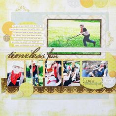 Fitting more on your page - #Scrapbooking blog from Creative Memories  http://www.creativememories.com