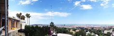 Casa E | 08023 Arquitectos - Vista panorámica de la obra y el paisaje de Barcelona que disfruta. #panoramica #casas #obras