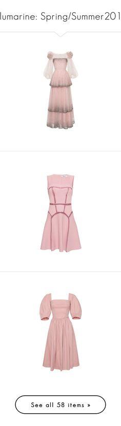 """Blumarine: Spring/Summer2017"" by livnd ❤ liked on Polyvore featuring blumarine, springsummer2017, livndfashion, livndblumarine, dresses, tops, blouses, skirts, pants and leggings"