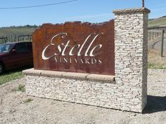 Estelle monument sign. Check us out at: http://www.signsofsuccess.net